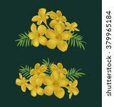 Vector Illustration Of Flower...