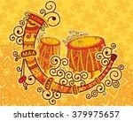 vector design of art and music... | Shutterstock .eps vector #379975657