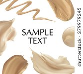 frame of make up liquid... | Shutterstock . vector #379979245