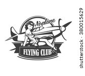 Airplane Club Vector...