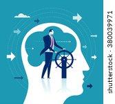 leader. business concept... | Shutterstock .eps vector #380039971