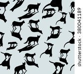 cats collection   vector...   Shutterstock .eps vector #380041189