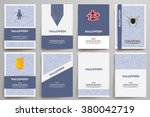 corporate identity vector... | Shutterstock .eps vector #380042719