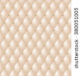 upholstery tufted leather... | Shutterstock .eps vector #380051005
