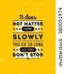 vector typography poster design ... | Shutterstock .eps vector #380051974