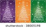 christmas stars | Shutterstock .eps vector #38005198