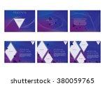 presentation slides template... | Shutterstock .eps vector #380059765