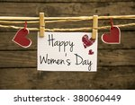 women's day card or background | Shutterstock . vector #380060449
