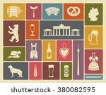 traditional symbols of culture  ... | Shutterstock .eps vector #380082595