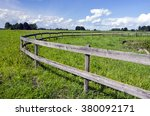 Green Pasture With Rustic...