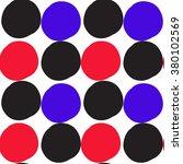 round spot seamless pattern   Shutterstock .eps vector #380102569