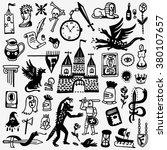 history   fairy tale   cartoons ... | Shutterstock .eps vector #380107657