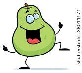 pear dancing | Shutterstock .eps vector #38011171