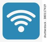 wifi icon | Shutterstock .eps vector #380117419