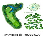golf course map 18 holes....