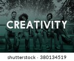 creative creativity design... | Shutterstock . vector #380134519