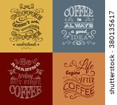 set of quote typographical... | Shutterstock .eps vector #380135617