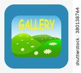 gallery. icon. vector design | Shutterstock .eps vector #380138764