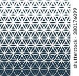 gradient geometric seamless... | Shutterstock . vector #380176099
