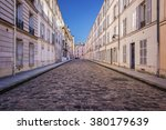 Picturesque Cobbled Street In...