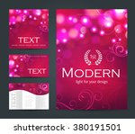 design templates collection for ... | Shutterstock .eps vector #380191501