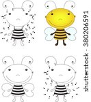 Cartoon Bee. Coloring Book And...