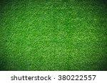 green grass natural background. ... | Shutterstock . vector #380222557