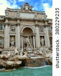 Small photo of The grand fountain with allegorical figures