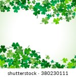 st patrick's day background.... | Shutterstock .eps vector #380230111
