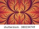 Abstract Fractal  Symmetrical...