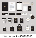 corporate branding identity... | Shutterstock .eps vector #380237365