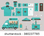 concept for coffee shop and... | Shutterstock .eps vector #380237785