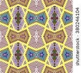 vector seamless  pattern ... | Shutterstock .eps vector #380246104