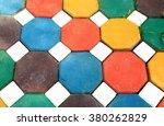 Many Multi Color Bricks Were...
