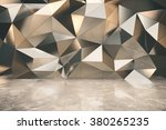abstact exterior with concrete... | Shutterstock . vector #380265235