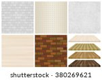 set of textures for the... | Shutterstock .eps vector #380269621