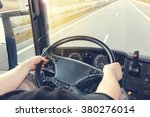 view on the dashboard of the... | Shutterstock . vector #380276014
