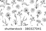seamless pattern with hand... | Shutterstock .eps vector #380327041