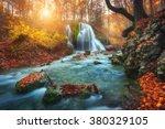 Beautiful Waterfall At Mountai...