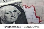 Stock Market Graph Next To A 1...