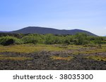 the geotermal area  north... | Shutterstock . vector #38035300