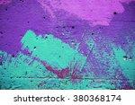 Colorful Brick Wall  Backgroun...