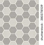 vector seamless pattern. modern ... | Shutterstock .eps vector #380378539