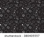 seamless pattern. cosmic... | Shutterstock .eps vector #380405557