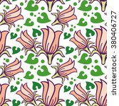 raster seamless pattern with... | Shutterstock . vector #380406727