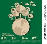 oxygen. save world vector... | Shutterstock .eps vector #380408221