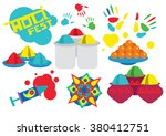 traditional indian festival.... | Shutterstock .eps vector #380412751