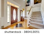 nice entry way to home with... | Shutterstock . vector #380413051
