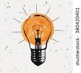 vector grunge illustration with ... | Shutterstock .eps vector #380420401