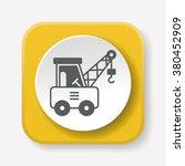 logistics truck icon | Shutterstock .eps vector #380452909